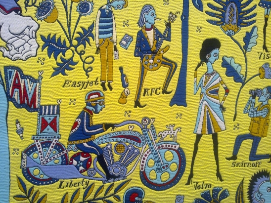 Walthamstow Tapestry by Grayson Perry