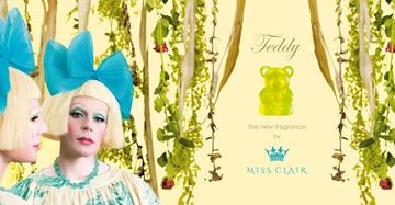 Picture of Teddy:  the new fragrance by Miss Clair (Parody Advert)